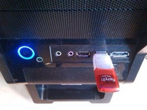 Usb Wlan Stick am Tower Pc